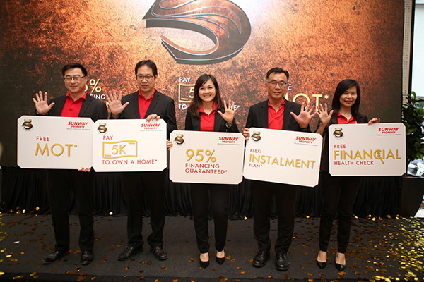 Sunway Property Launches Super 5 Easy Home Ownership Scheme