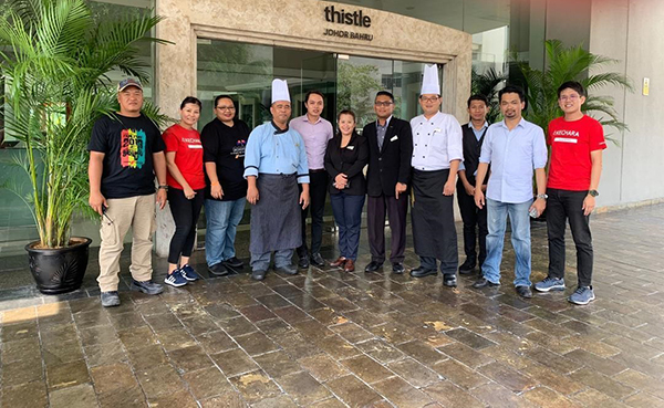 #MealsOnUs Project Gets Hotels to Sponsor Food Aid for Pasir Gudang First Responders