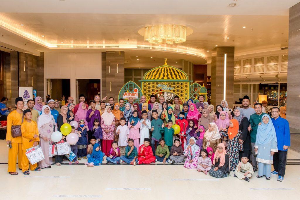 Amari Johor Bahru Hosted Children Cancer Fighters to Break-Fast