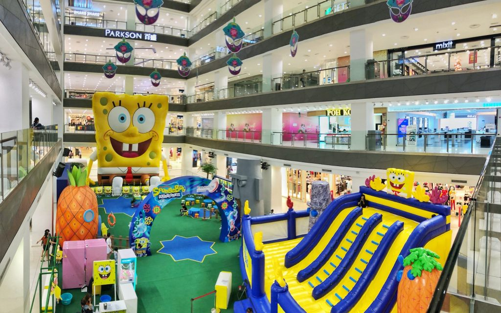 Paradigm Mall Johor Bahru Made its Mark in Malaysia Book of Records with the Biggest Inflatable Cartoon Character