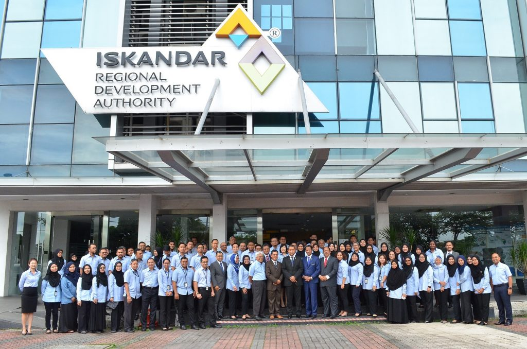 Newly Appointed Johor MB's First Visit to IRDA
