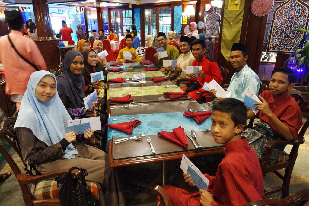 Pulai Springs Resort Treats Underprivileged Students to Its Majlis Iftar Ramadan 2019