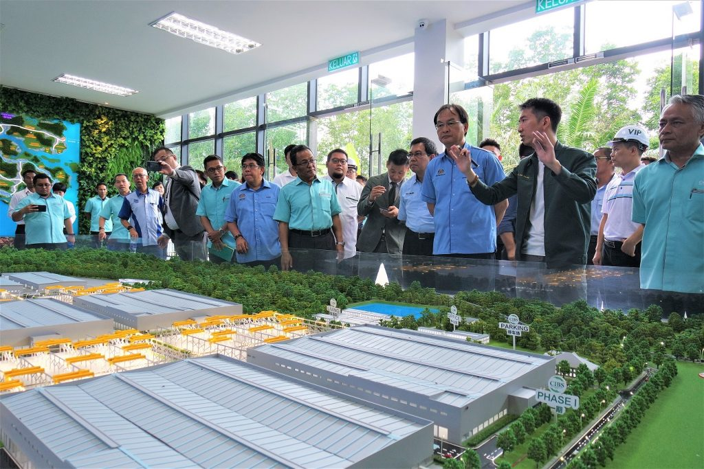 Forest City CGPV made it in Malaysia Book of Records as the Largest Fully Automated IBS Plant