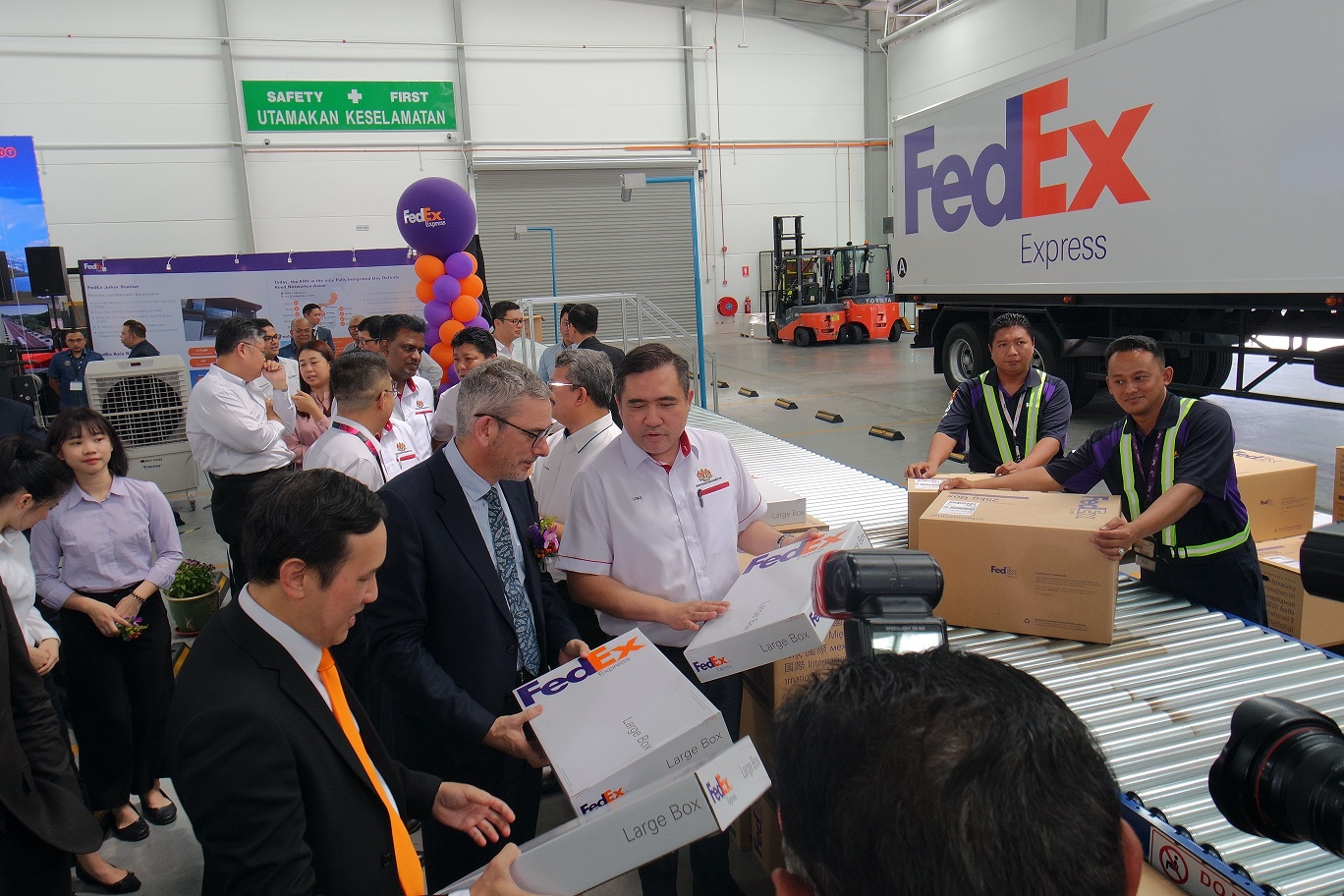FedEx Johor Station Is Creating More Possibilities and Connectivity