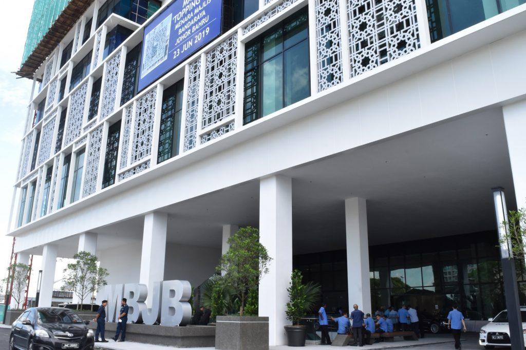 MBJB Topping Off Ceremony at One Bukit Senyum