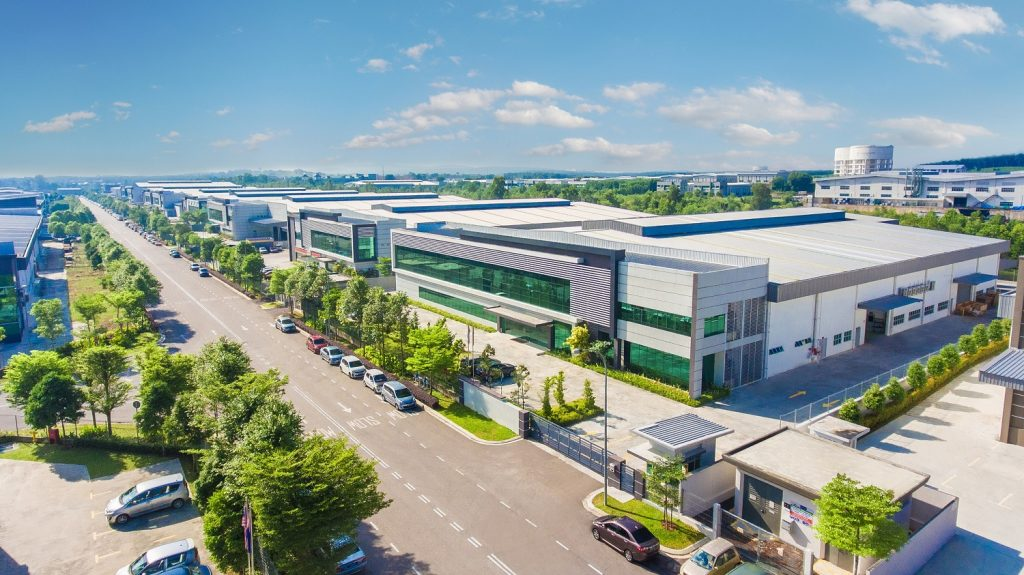 World Class Award-Winning Industrial Park