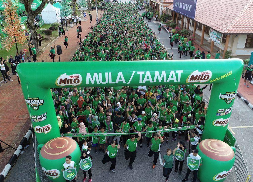MILO Malaysia Breakfast Day Debuted in Batu Pahat, Johor