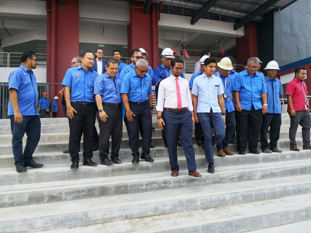 Gearing Up for SUKMA 2020: KPRJ Undertaking 11 of the Venue Constructions
