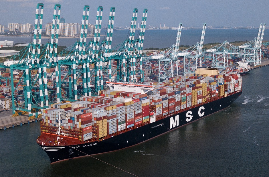PTP Welcomes World's Latest and Largest Container Vessel – MSC Gulsun