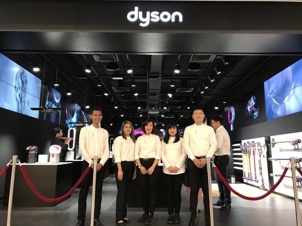 Dyson Demo: A Place for Dyson Dreamers to Experience Reality