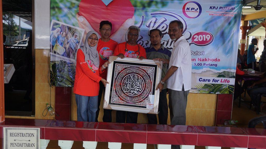 KPJ Puteri Specialist Hospital Lend A Help To Mersing Kechil Residents