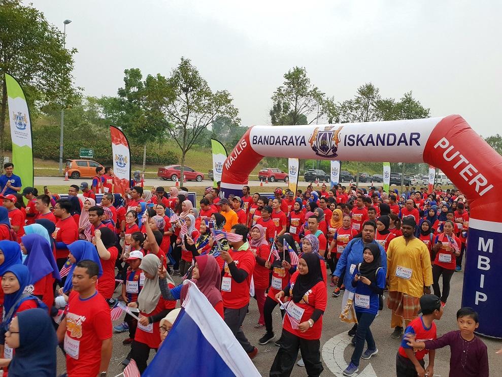 Iskandar Puteri Merdeka Fun Run 2019 Celebrates the Spirit of Malaysia