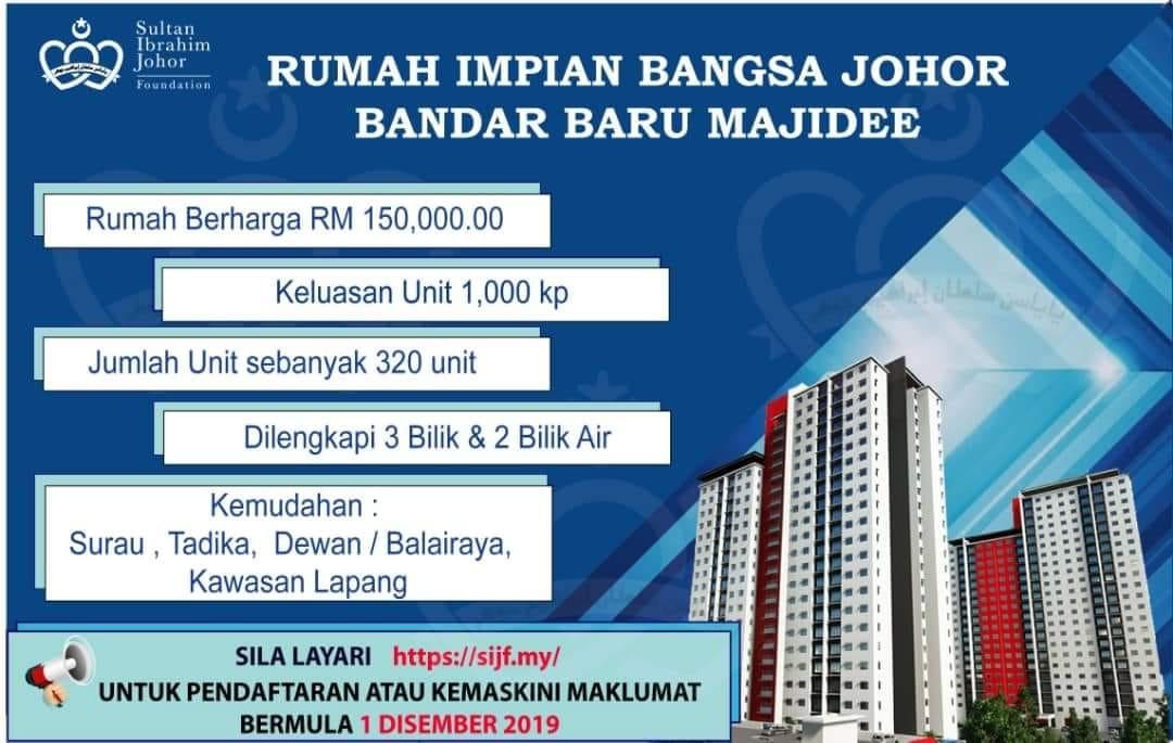 Rumah Impian Bangsa Johor Ribj Opens Again For Application The Iskandarian