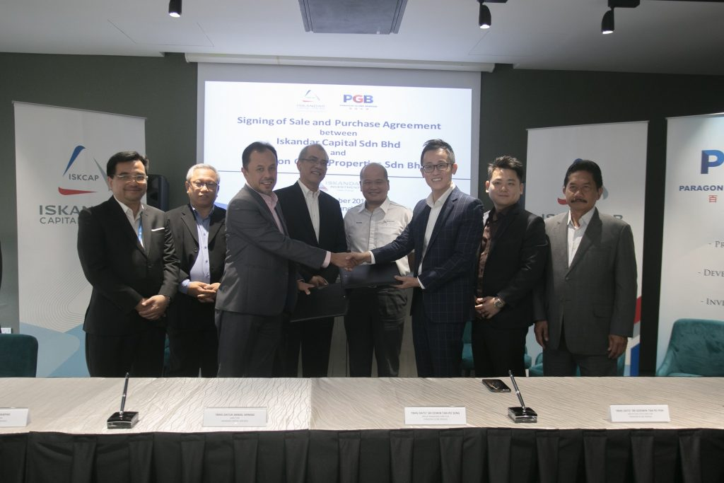 Paragon Globe and Iskandar Capital Ink First Integrated Sustainable Living Deal
