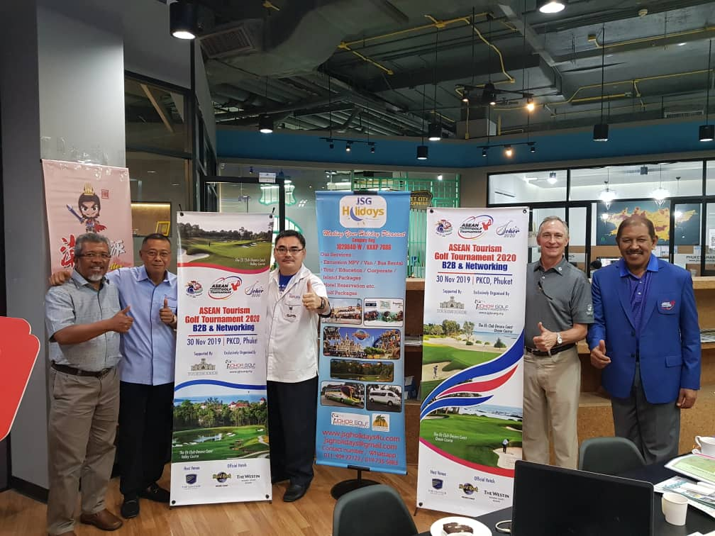 ASEAN Tourism Golf Tournament to Inject Tourists for Visit Johor Year 2020