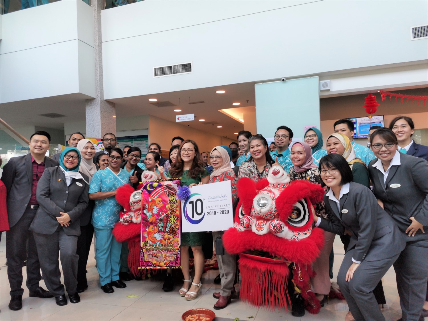 Columbia Asia Hospital Iskandar Puteri Celebrates with the Community