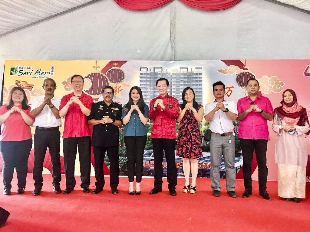 Block B Amber Heights Launched at UMLand Seri Alam