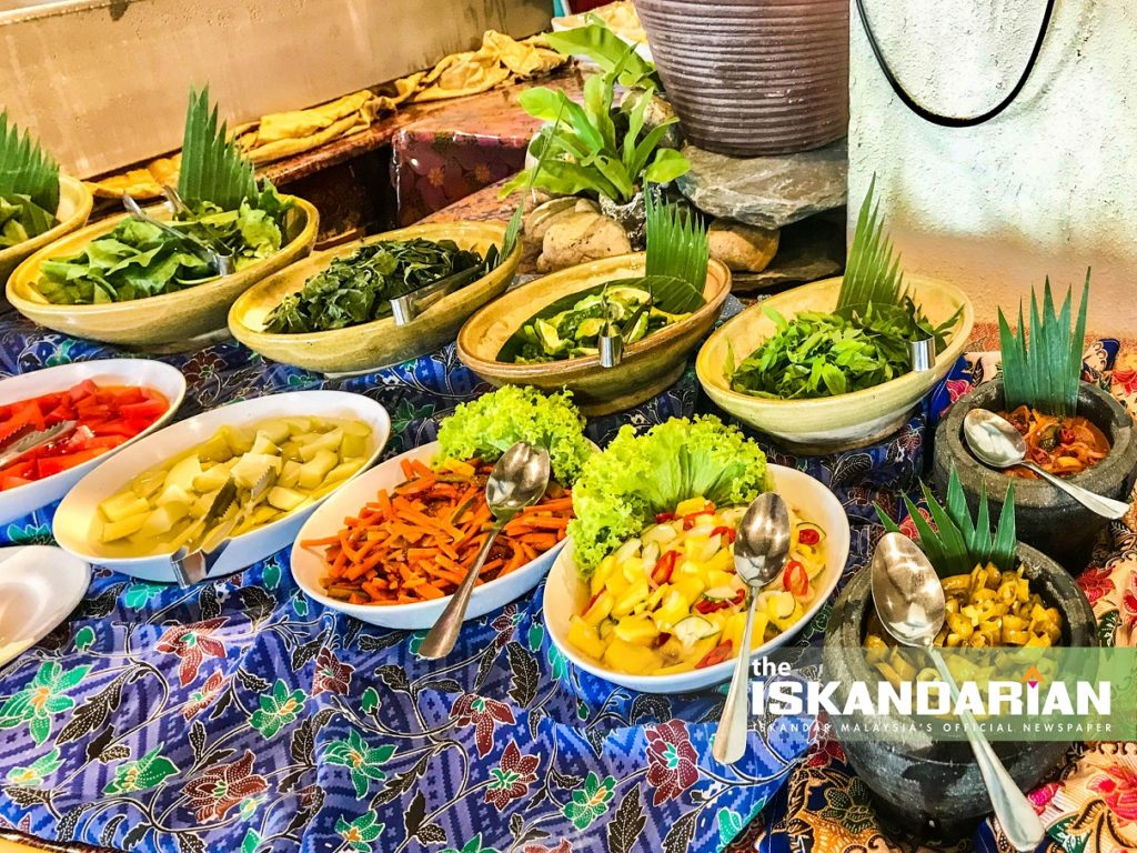 """Selera Kampung"" Offerings at Tanjong Puteri Golf Resort"