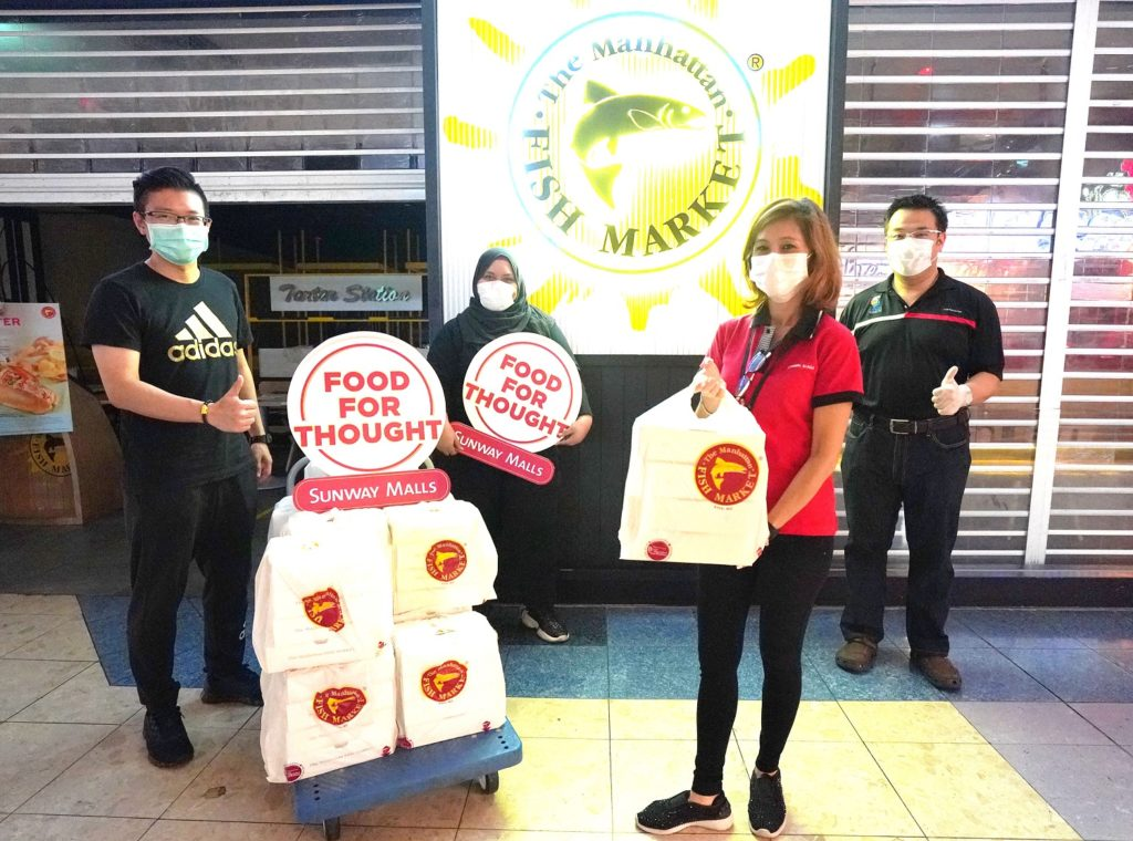 Sunway Malls Feeds the Underprivileged Impacted by the Movement Control Order