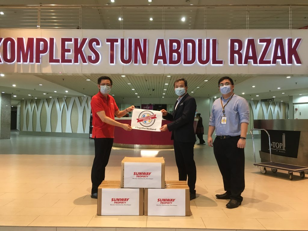 Community Support: Sunway Property Extends Aid to Local Councils, Police and Public Healthcare Institutions