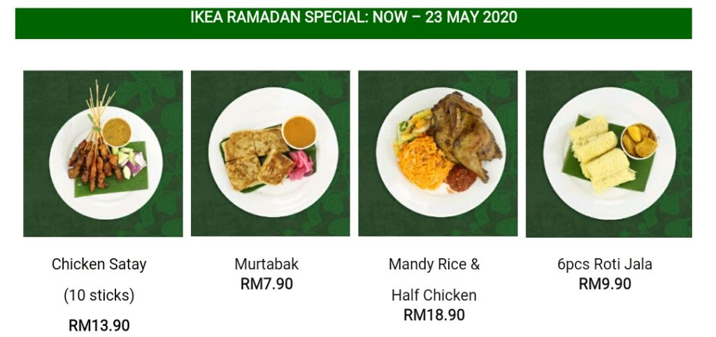 Iftar with IKEA this Bulan Puasa