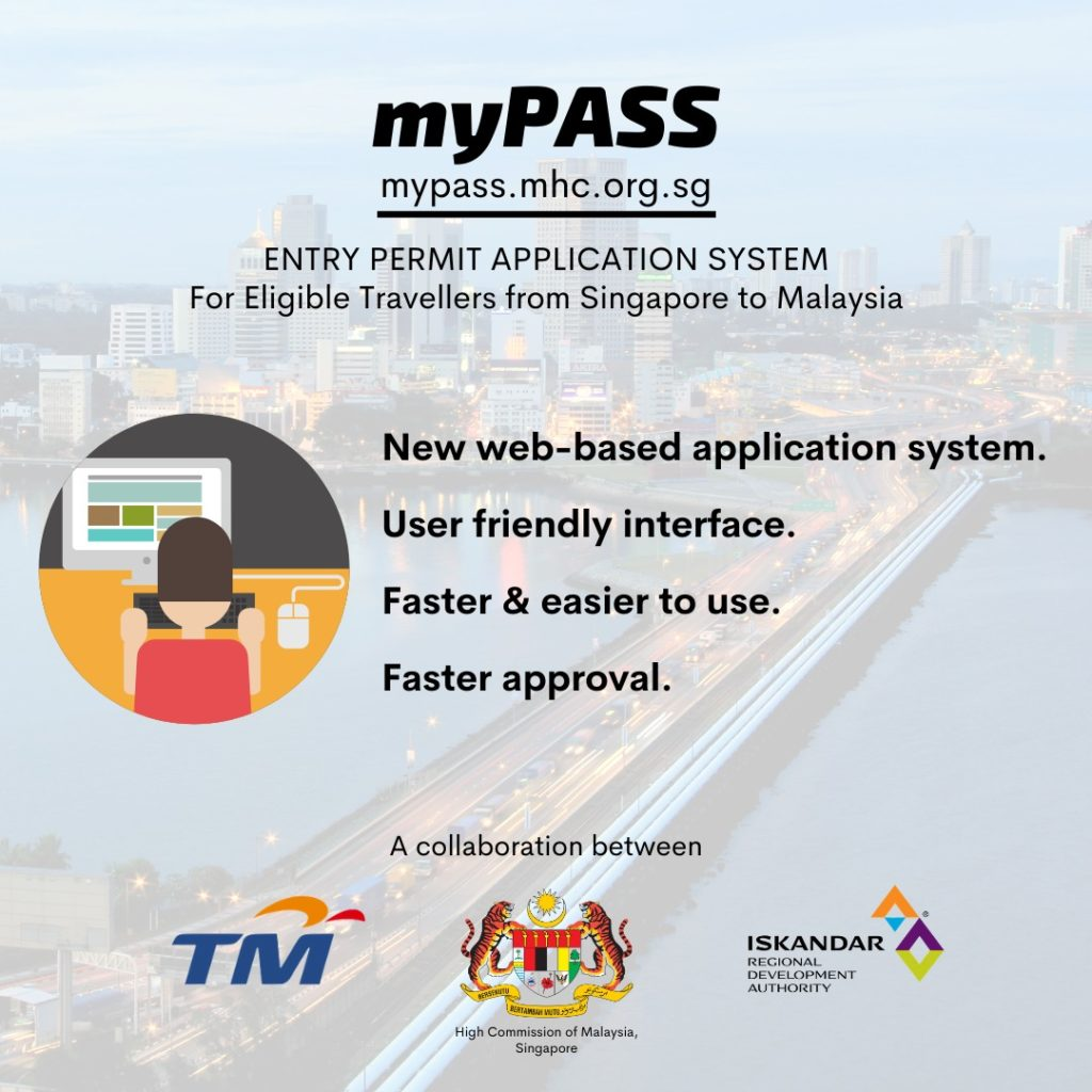 New System: myPASS to Ease Singapore-Malaysia Travel During MCO Period