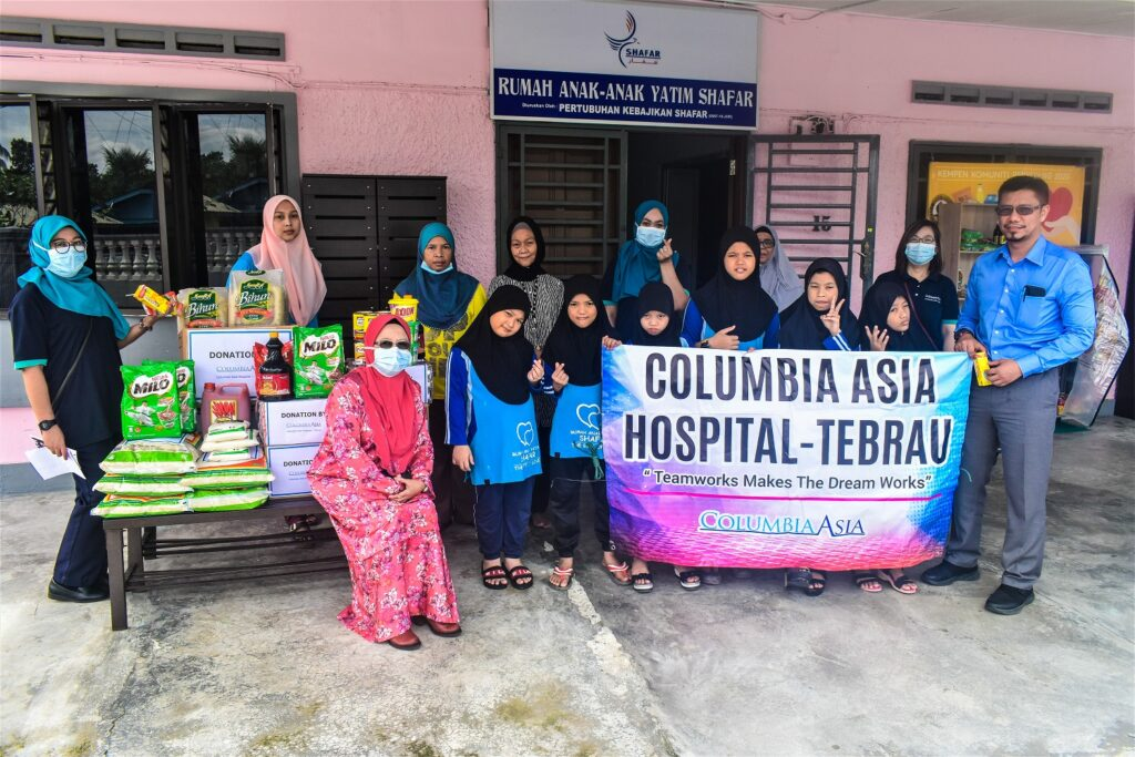 Columbia Asia Hospital – Tebrau Frontliners Went Above and Beyond to Look After the Community