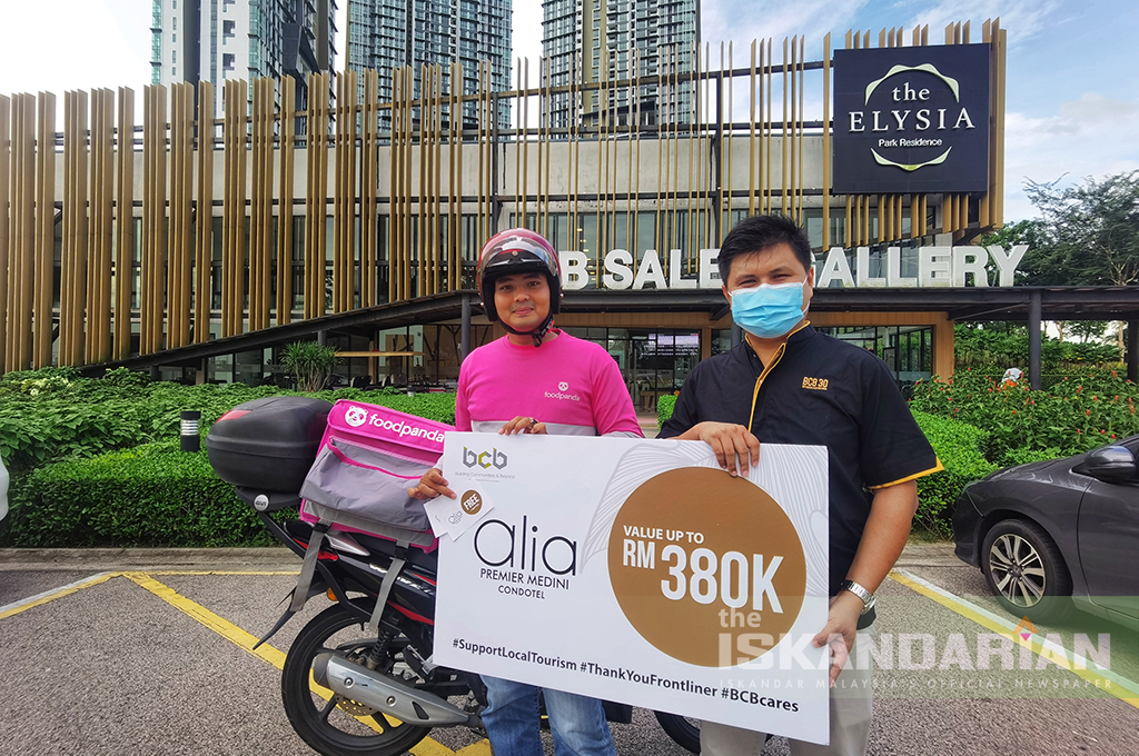 BCB Berhad Presents Total Value of RM380k to Frontliners
