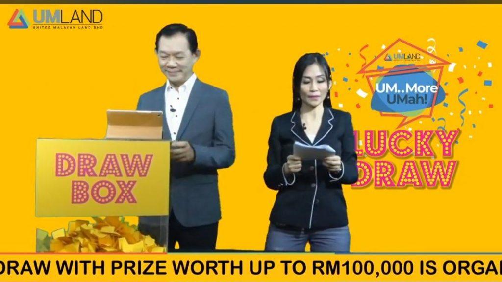 UMLand First Ever Digital Lucky Draw - 'UM... MORE UMAH! MORE THAN JUST RUMAH'