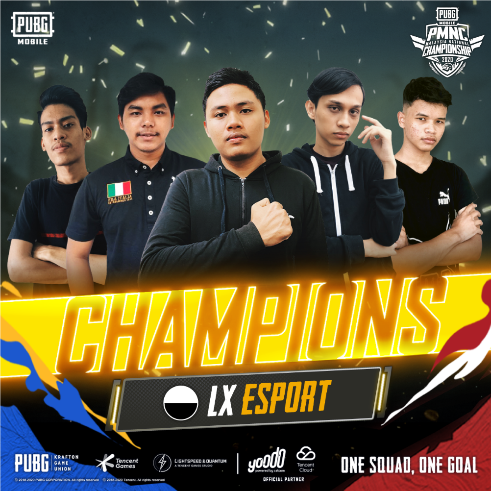 PMNC 2020 Comes to an End, LX ESPORT Crowned as Champions