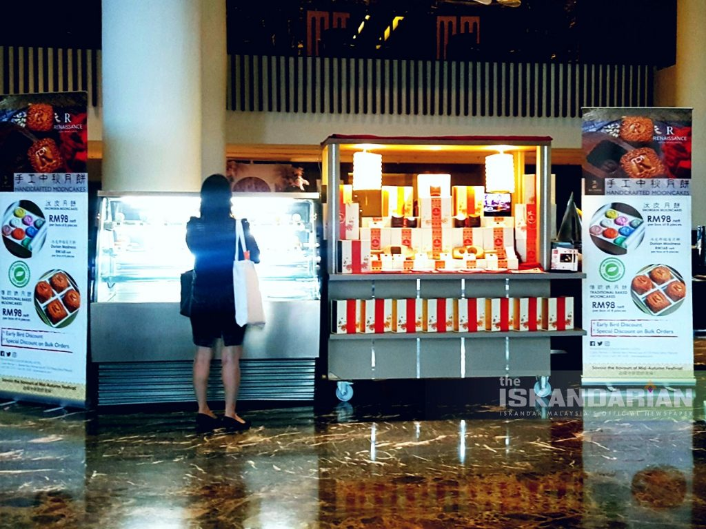 Renaissance Hotel Johor Bahru Mooncakes Rises Ahead of Mid-Autumn Festival