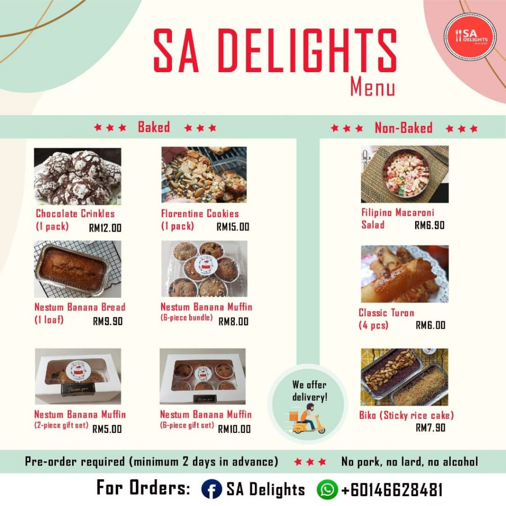 Sweet Tooth Rejoice – New Desserts from SA Delights are here for you!