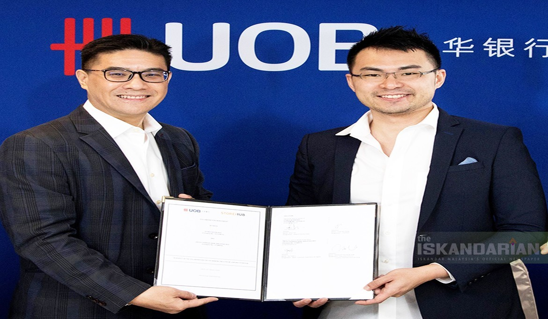 Uob Malaysia Partners Storehub To Help F B Small Businesses Reduce Operational Costs The Iskandarian