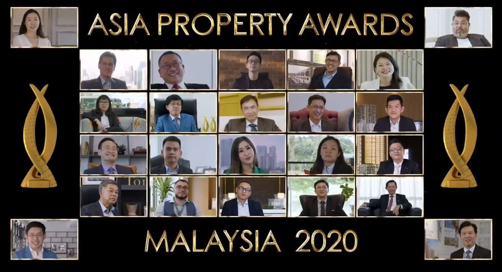 Some of the recipients in the coveted virtual awards
