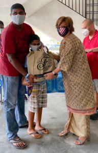 Making Merdeka Celebration Meaningful for 100 Families
