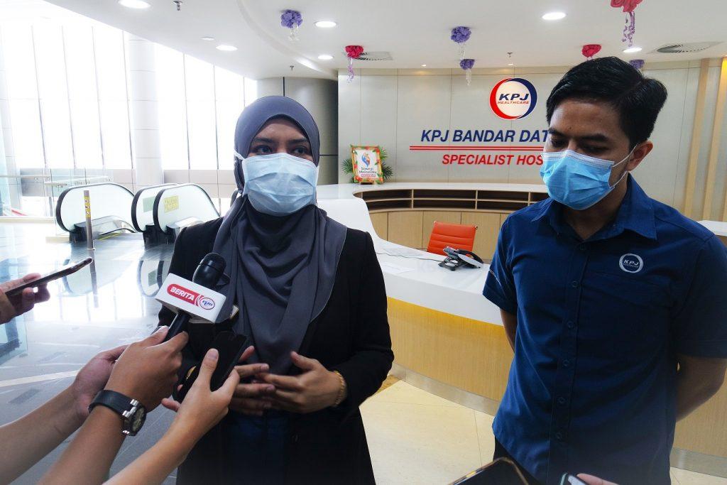 KPJ Bandar Dato' Onn Provides Influenza Prevention for the Frontliners