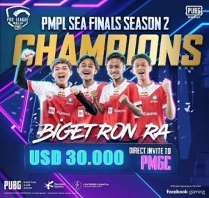 Grand Prize Money of USD 30,000 Bagged in PMPL Sea Finals Season 2