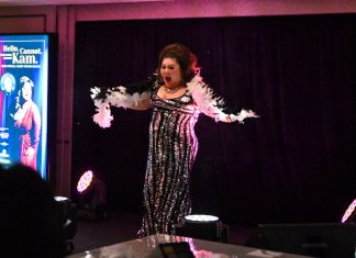 Malaysia's Queen of Comedy, Joanne Kam graced the stage with her antics