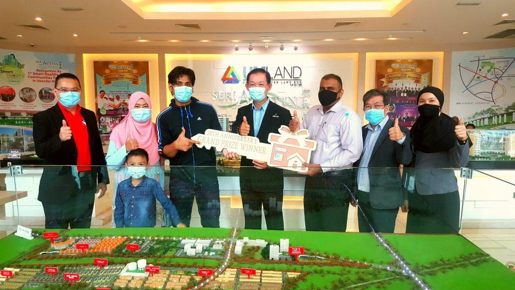 Johor Bahru City Square's 20th Anniversary Lucky Draw Winner Wins Big