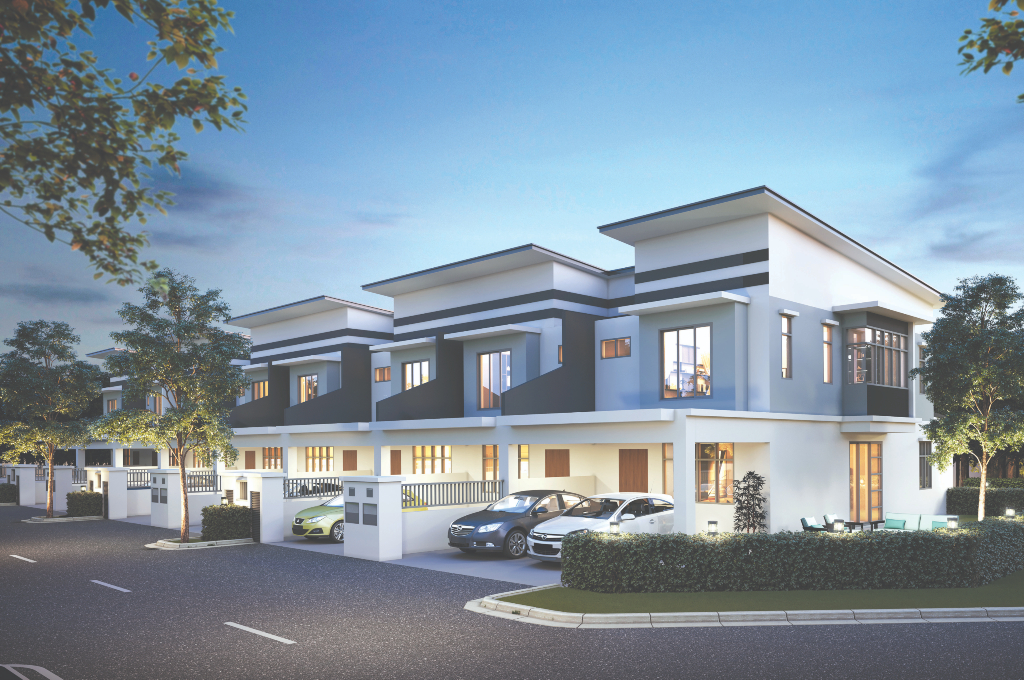 Maybank HouzKEY Now Available for MB World's Serenita 2-storey Terrace Houses